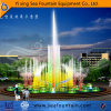 Round Shape Color Changing Music Fountain in Water Pool