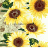 100%Polyester Sunflower Pigment&Disperse Printed Fabric for Bedding Set