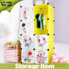 Modern Eco-Friendly Organizer System Kids Plastic Wardrobe Design