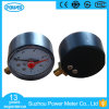 2′′ 50mm Plastic Case Pressure Gauge with Adjustable Red Pointer