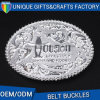 Fashion Zinc Alloy Belt Buckle Customization Logo