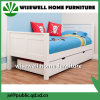 Solid Pine Wood Child′s Guest Bed with Underbed Trundle