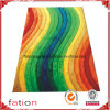 Rainbow Colors Fashion Fluffy Area Rugs Bedroom Shaggy Carpets