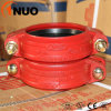 Ductile Iron Pipe Fittings Rigid Grooved Couplings Produced in China