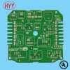 Double-Sided Hal PCB Board with Green Solder Mask