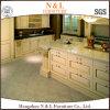 N & L Solid Wood Kitchen Furniture with Elegant Shape
