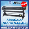 Price of Vinyl Printer 1.6m, Sinocolor Storm Sj640I, with Epon Dx7 Head