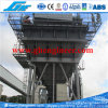 100cbm Port Mobile Vibrating Hopper