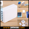 33W 6-Port Family-Sized Desktop USB Charger High Quality Wall Charger for USB Device