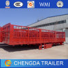 60ton China 3 Axles Fence Cargo Livestock Trailer