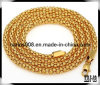 3/4/5mm Wheat Chain Necklace 18k Gold Filled Necklace
