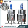 Stainless Steel Double Jacketed Formulation Mixing Tank with Agitator