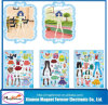 High Quality Novelty Rubber Magnetic Game Dress up Fridge Magnet