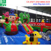 Castle Theme Inflatable Fun City for Sale, Inflatable Castle