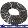 Stone Cutting Rubber Wire Saw for Granite Marble Quarry or Mining
