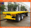 Heavy Duty 40FT 3-Axle Flatbed Pulling Cargo Trailer for Sale