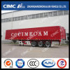 Cimc Huajun High Quality Cargo Van Trailer Exported