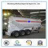 3 Axles Bulk Cement Tanker of 42cbm Volume Semi Trailer