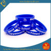 Customized Logo Hot Sale Printing Silicone Wristband From China in High Quality