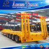 Heavy Equipment Transport 70tons Low Bed/Platform Semi Trailer for Sale
