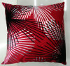 Metallic/Flock Printed Decorative Pillow Metallic Print Cushion (XPL-32)