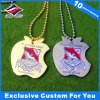 Plated Dog Tag Enamel Die Casting Dog Tags