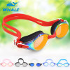 Mirrored Anti-Fog Silicone Swimming Goggles with CE and Intertek Report (mm-6903)