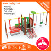 Kids Outdoor Playground Swing and Slide Playground