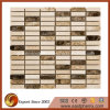 Polished Various Color Marble Stone Kitchen Backsplash Tile Mosaic
