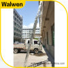 Aluminum Grooved Rails Telescopic Combination Ladder