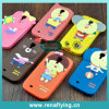 High Quality Cartoon Silicon Mobile Phone Case for Samsung S4