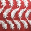 Milk Yarn Embroidered Feather Lace Textile for Women′s Clothes