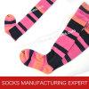 100% Cotton of Woman Coloful Tube Sock (UBM1042)