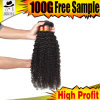 Grade 9A Unprocessed Virgin Brazilian Natural Color Curly Wave Hair