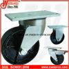 6 Inch Heavy Duty Ductile Iron Waste Bin Castor