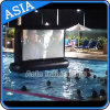 Durable Air Sealed Inflatable Movice Screen, Inflatable Floating Screen for Swimming Pool