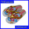 New Fashion Product Flowesr Print PE Slipper for Girl