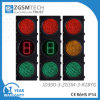 300mm LED Traffic Signal Red Yellow Green Full Ball and 1 Digital Countdown