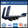 Cimc Tri-Axle Low Bed Semi Trailer for Sale