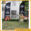 Outdoor Customized Polyester Feather Flag/Beach Flag