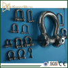 Stainless Steel Wide Open Dee Shackle