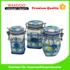 Ceramic Decorative Airtight Canister for Kitchen Food Container
