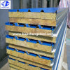 Steel Rock Wool Sandwich Panel Wall Roof Panel