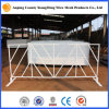 White Color Us Style Pedestrian Barricade America Crowd Control Barrier