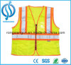 Fluorescent Green Hi Vis Reflective Security Kids Vest
