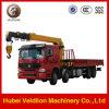 Sinotruk 8X4 Telescopic Boom Truck Mounted Crane