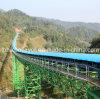 Overland Long-Distance Curved Belt Conveyor System