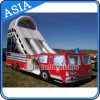 Inflatable Fire Truck Bouncer Slide Inflatable Sport Game