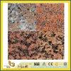 SGS Cheap Maple Red Granite Stone Slab for Decoration/Component/Countertop