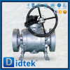 Didtek Rtj High Pressure Trunnion Ball Valve with Gear Operated